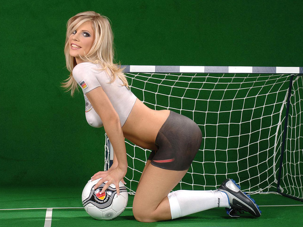 Nude soccer girl hottie consider, that